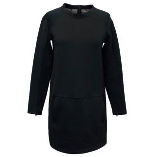 J Brand Black Mid-Length Dress