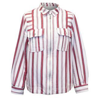 Zadig&Voltaire Striped Denim Shirt