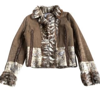 Simonetta Ravizza rabbit jacket