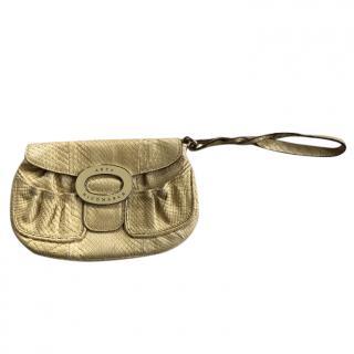 Anya Hindmarch snakeskin clutch