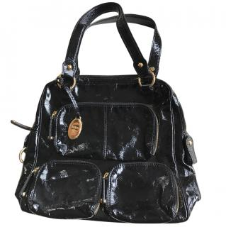 Tods Black patent leather handbag
