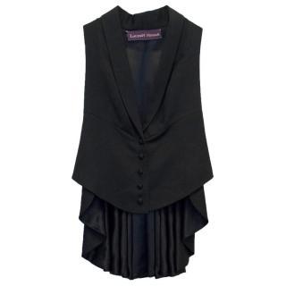 Lauren Nevada Black Tunic Style Waistcoat