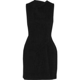 Roland Mouret Black Crepe silk dress