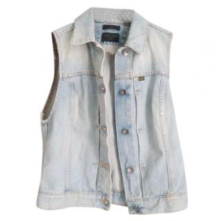 Tiger Of Sweden Denim Vest Jacket