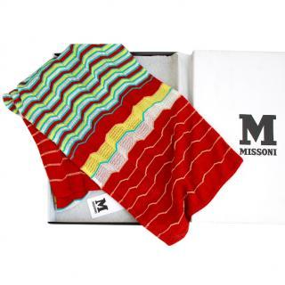 Missoni Zig-Zag Print Scarf