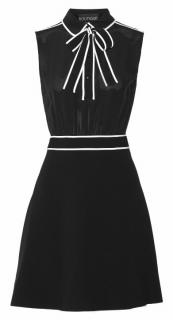 Moschino Boutique Pussy Bow Black Dress UK16/48