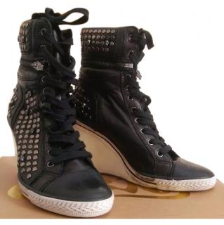 Ash Black 'Tracy' Limited Edition trainer style Ankle Boots