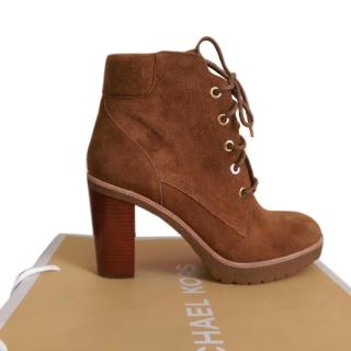 Michael Kors Lace Up Boots