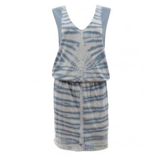 Raquel Allegra Tie-Dye Cotton-Jersey Dress