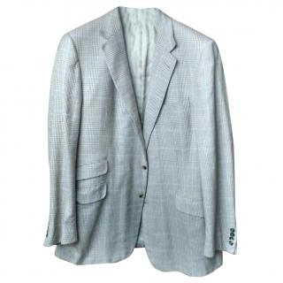 Dunhill Beige Check Jacket