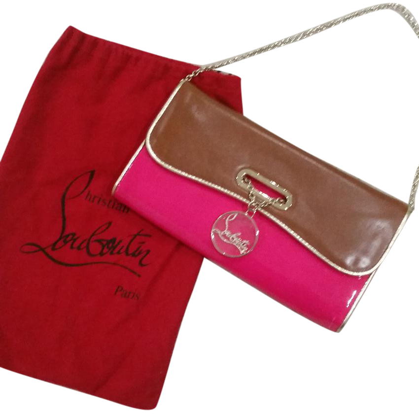 9cd9a55c2e1 Christian Louboutin Riviera Bi-Color Clutch Bag Pouch