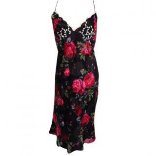 Emanuel Ungaro Silk floral dress