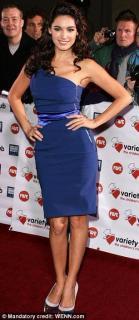 Preen by Thornton Bregazzi Blue One Shoulder Pencil Dress