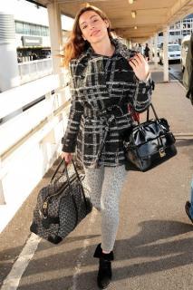Burberry London Tweed Jacket With Embellished Collar