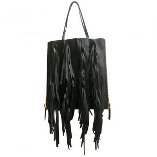 Marni fringe Tote bag with pouch