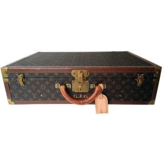 LOUIS VUITTON Bisten 65 Monogram Canvas Travel Suitcase Hard Bag