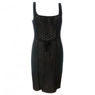 Moschino Cheap and Chic Black Lace dress
