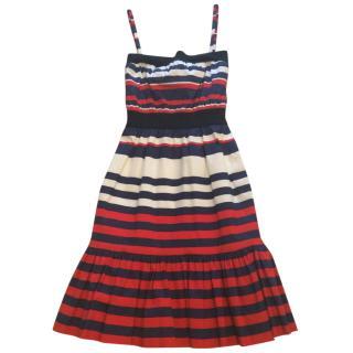 Prada Multicolored Cotton Dress