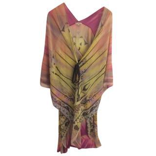 Etro Paisley Print Silk Kaftan