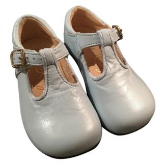 Rachel Riley Boys Light Blue Shoes