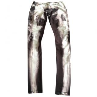 McQ Alexander McQeen X Ray leggings