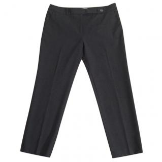Gerard Darel wool slim fit stretchy crop trousers