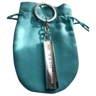 Tiffany & Co Sterling Silver Bar Tag Keyring