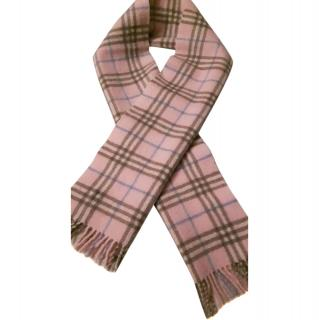 Burberry London 100% Lambswool Made in England Women's Scarf