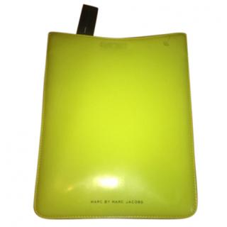 Marc Jacobs neon yellow Ipad tablet case