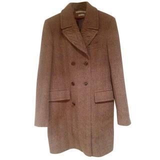 Marc Jacobs Herringbone Tweed mens coat