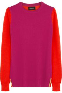 Sophie Hulme Pink and Red Cashmere jumper