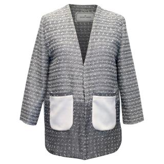 MBC By Malene Birger Grey Blazer