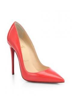 Christian Louboutin So Kate in Patent Poppy