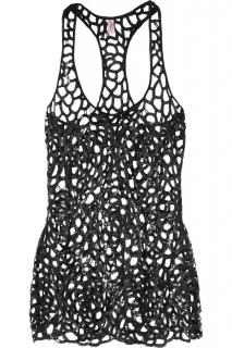 Agent Provocateur Sequin cut out beach top