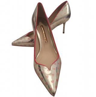 Sophia Webster Silver Heels
