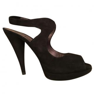 Miu Miu Black Suede shoes