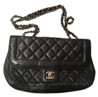 Classic black Chanel flap bag