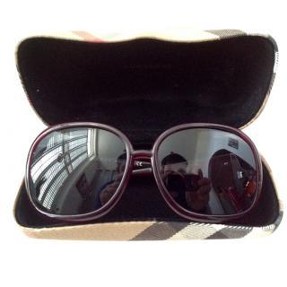 Burberry Dark Purple Sunglasses