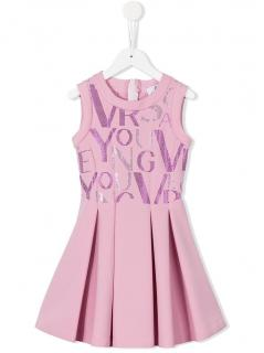 Young Versace Girls Pink Dress