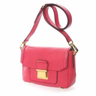 Miu Miu Pink cross body leather bag