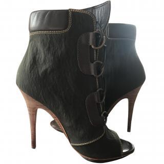 Giuseppe Zanotti Khaki Ankle boots