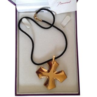 18ct Baccarat Bronze Cross Pendant