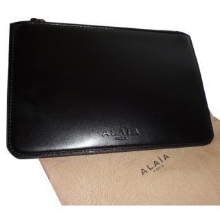 Alaia Paris Black Clutch Bag