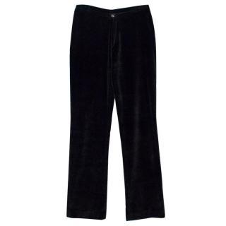 Joseph Black Velvet Trousers