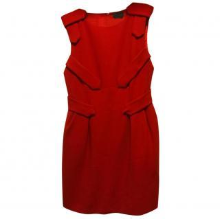 Halston Red Dress