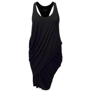 Rag & Bone Black Ruched Dress