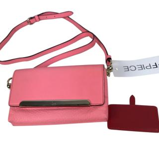 Christian Louboutin Mini Leather Cross body Bag, Pink