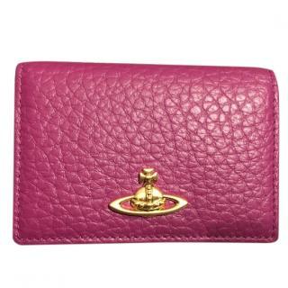 Vivienne Westwood Pink Cardholder