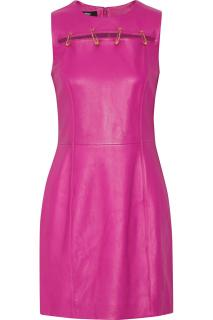 Versus Versace Pink leather dress