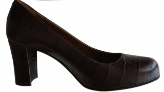Pollini Brown Studio Heels